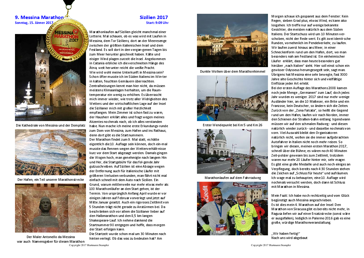 9. Messina Marathon
